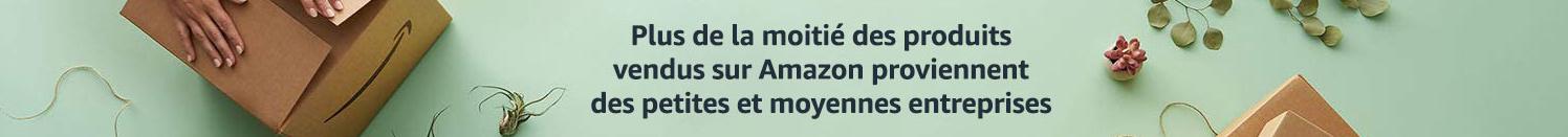 Plus de la moitié des produits vendus sur Amazon proviennent des petites et moyennes entreprises