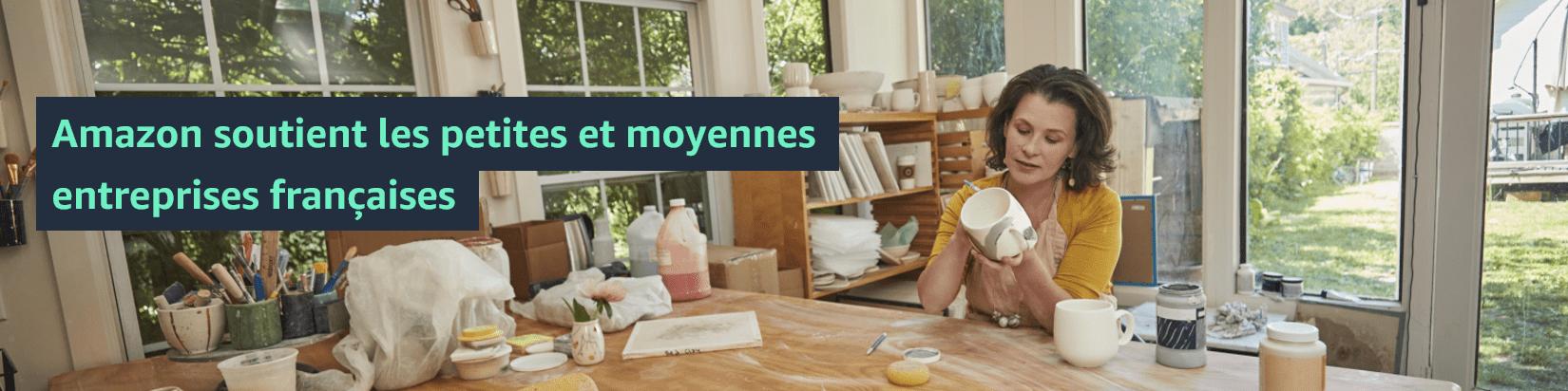 Amazon soutient les petites et moyennes entreprises françaises