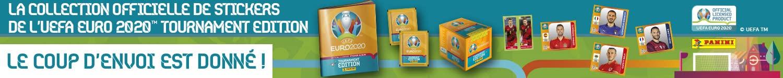 Découvrez la collection officielle de stickers de l'EUFA Euro 2020