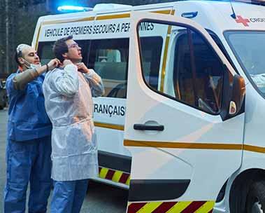 Soutenez la Croix-Rouge française