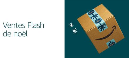Découvrez les ventes flash de Noël