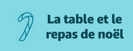 Table et repas de noël