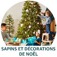 Sapins et décorations de Noël