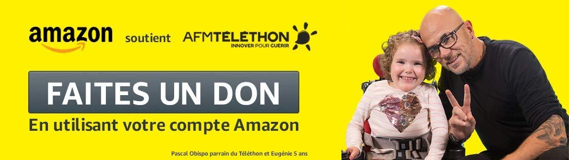 Amazon soutient le Téléthon