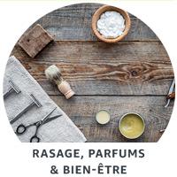 Rasage, Parfums & Bien-être