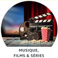 Musique, films & séries