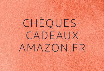 Chèques cadeaux amazon.fr