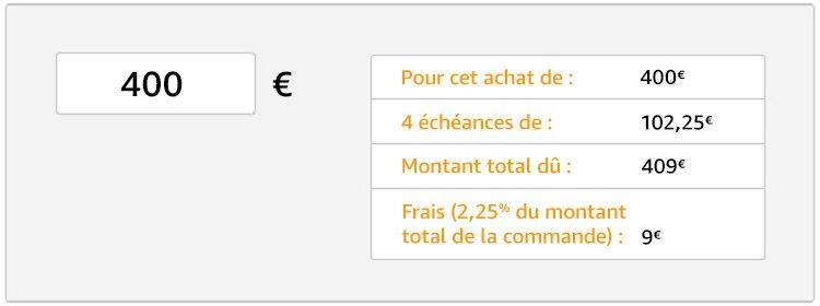 Simulation de paiement