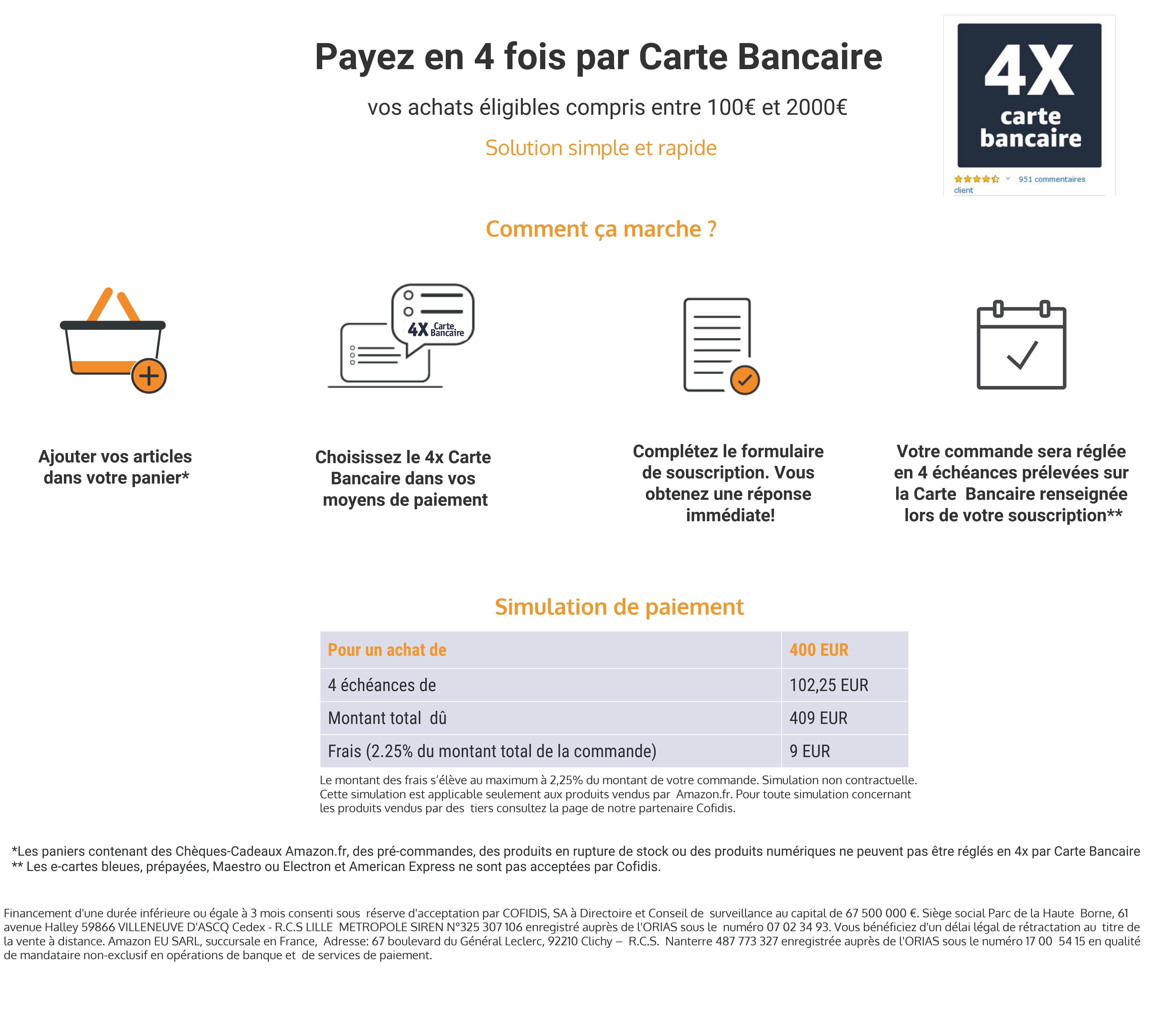 payer en plusieur fois par carte bancaire