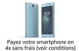 Sélection de smartphones en 4 fois sans frais