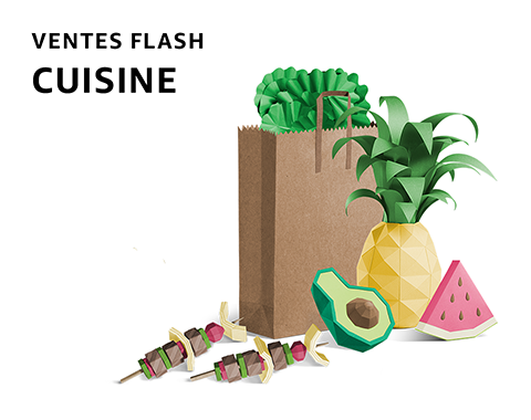 Ventes flash Cuisine