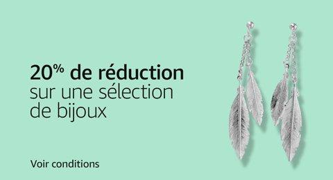 20% de réduction sur une sélection de bijoux
