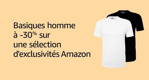-30% sur les lots de vêtements en exclusivité sur Amazon
