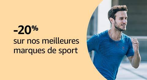 -20% sur nos meilleures marques de sport
