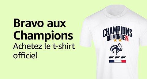 T-shirt Champions du monde