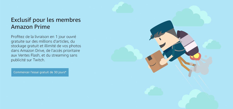 Exclusif pour les membres Amazon Premium