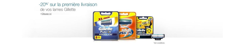 Economisez en vous abonnant Gillette