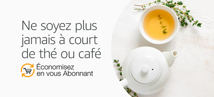 Ne soyez plus jamais à court de thé ou café