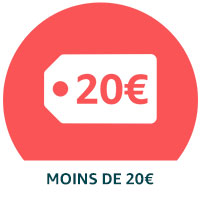 Promotions en dessous de 20€