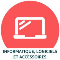 Informatique, logiciels et accessoires