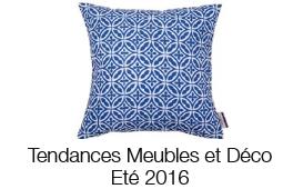 Tendances meubles et déco été 2016