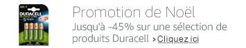 Jusqu'à -45% sur une sélection de produits Duracell