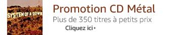 Promotion CD Métal à petits prix%