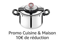 Promotion Cuisine et Maison, -10 euros dès 50 euros d'achats