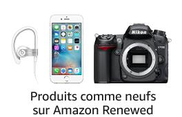 Produits comme neufs sur Amazon Renewed