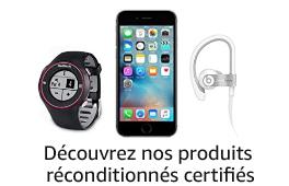 Découvrez nos produits réconditionnés certifiés sur Amazon Renewed