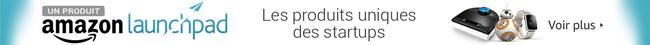 Amazon Launchpad: Découvrez des produits uniques et innovants issus des startups