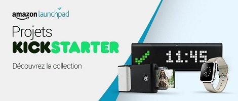 Découvrez une large selection de produits innovants révélés par la plateforme de crowdfunding Kickstarter