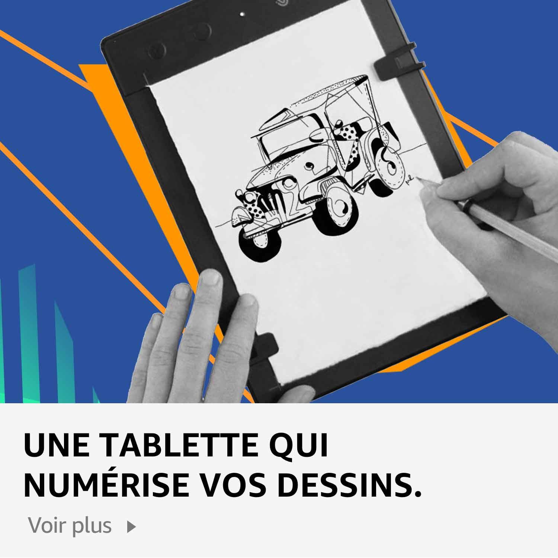 Une tablette qui numérise vos dessins.