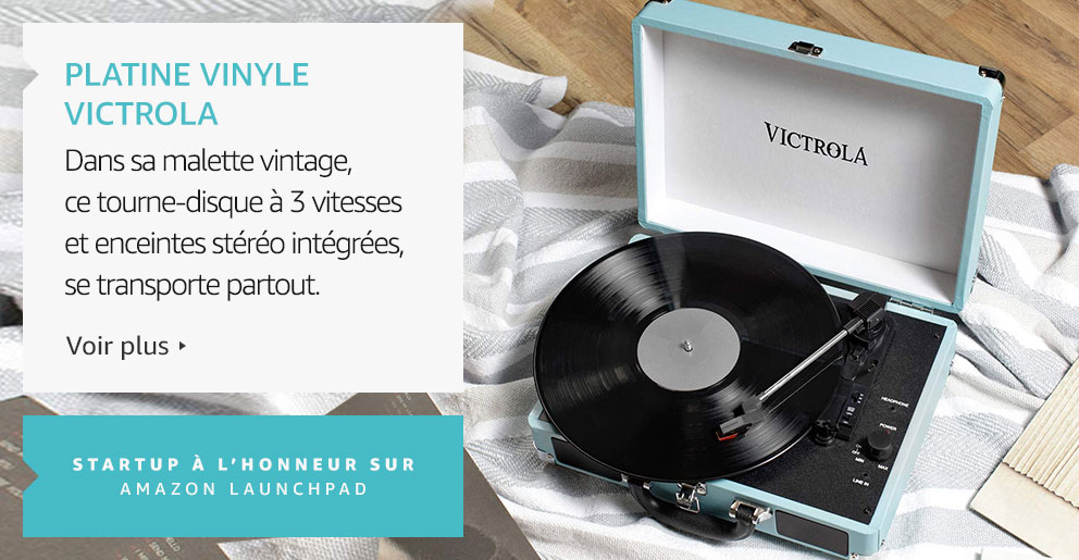 Platine vinyle Victrola