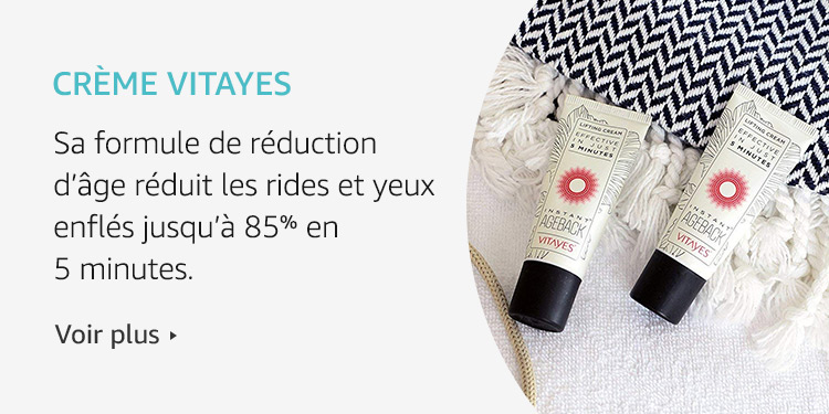 Amazon Launchpad: Crème Vitayes
