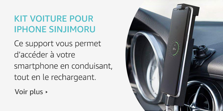 Amazon Launchpad: Kit voiture pour Iphone Sinjimoru