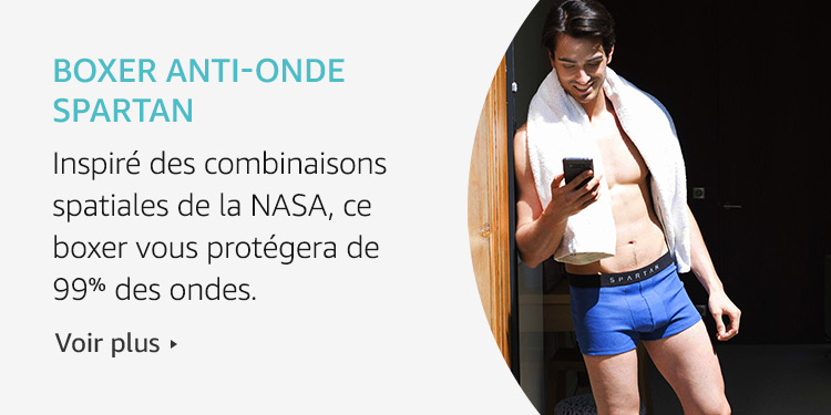 Amazon Launchpad: Boxer anti-onde Spartan