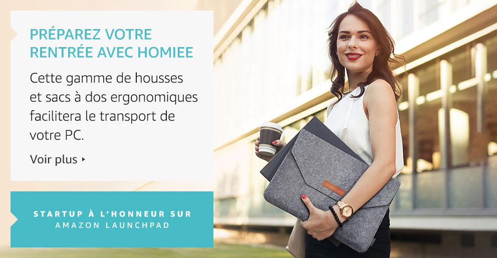Amazon Launchpad: Préparez votre rentrée avec Homiee