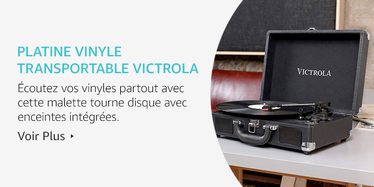 Platine Vinyle Transportable Victrola