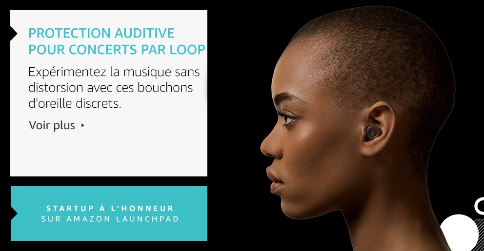 Protection auditive pour concerts par Loop