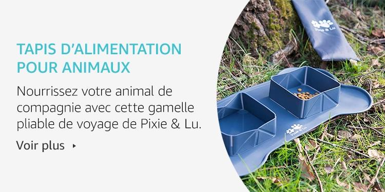 Amazon Launchpad: Tapis d'alimentation pour animaux
