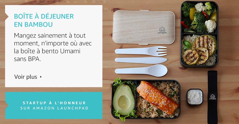 Amazon Launchpad: Boîte à déjeuner en bambou