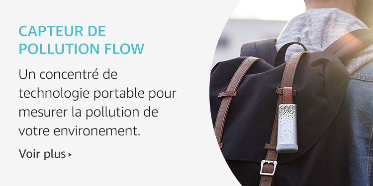 Capteur de pollution Flow