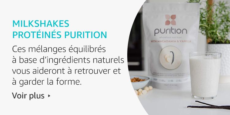 Milkshakes Protéinés Purition