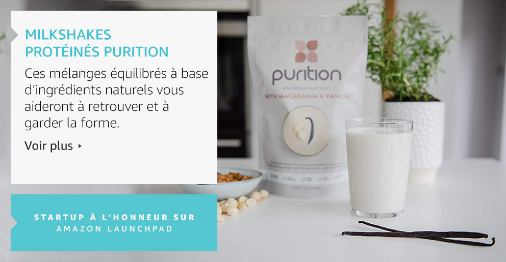 Milkshapes Protéinés Purition