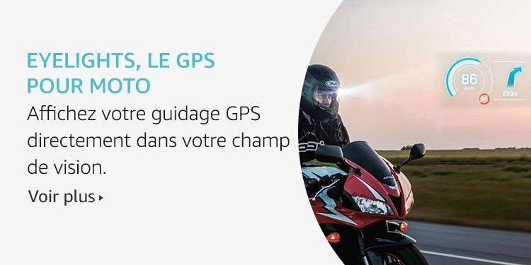 Eyelights, le GPS pour Moto