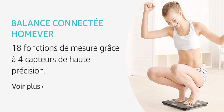 Balance connectée Homever