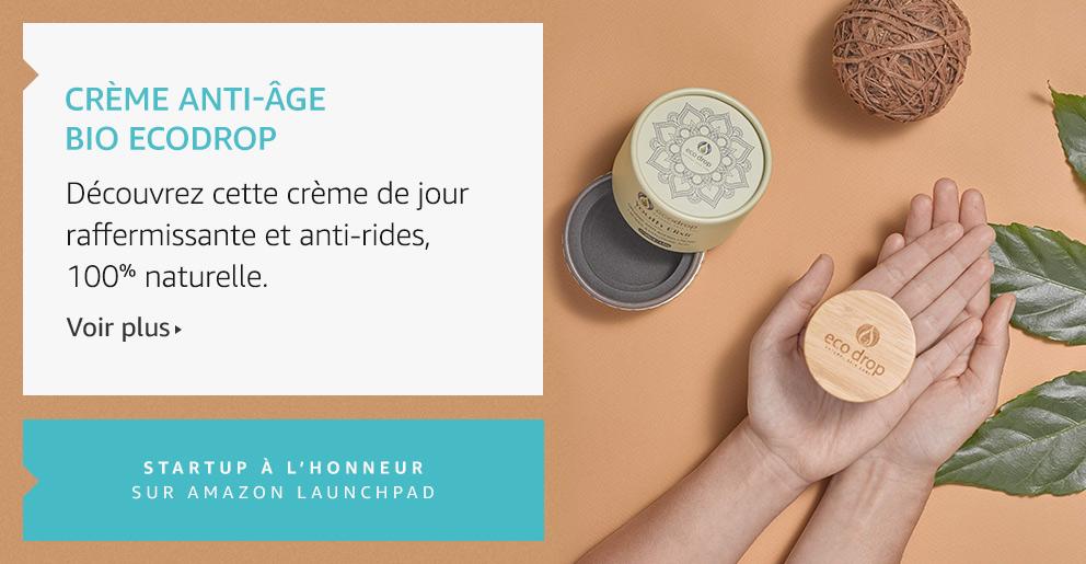 Crème anti-âge Bio Ecodrop