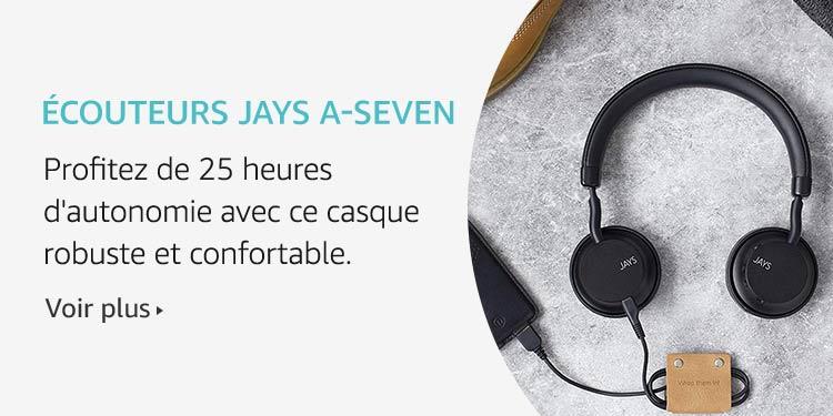 Ecouteurs Jays A-Seven