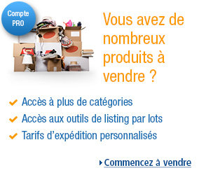 vendeur Pro au Amazon.fr
